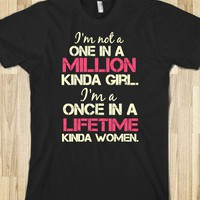 once in a lifetime - Hipster Apparel - Skreened T-shirts, Organic Shirts, Hoodies, Kids Tees, Baby One-Pieces and Tote Bags