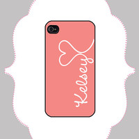 iPhone Case - Heart Monogram -iPhone 4/4s Case, iPhone 5 Case