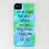 Be So Happy :) iPhone Case by Kayla Gordon | Society6