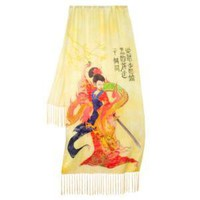 Art of the Disney Princess Mulan Scarf by Disney Couture | Scarves | Disney Store