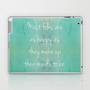 Happiness Quote Laptop & iPad Skin by LitPrints | Society6