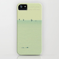 Wild & Free iPhone Case by RDelean