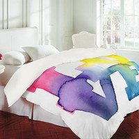 DENY Designs Home Accessories | CMYKaren Love 4 Duvet Cover