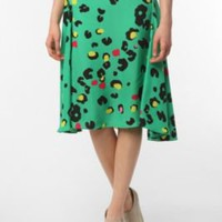 UrbanOutfitters.com &gt; Silence &amp; Noise Bias Cut Midi Skirt