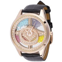 Swarovski Element Luxury Quicksand Diamond Watch