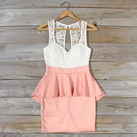 Always & Forever Dress in Peach, Sweet Women's Party Dresses