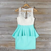 Always & Forever Dress in Mint, Sweet Women's Party Dresses