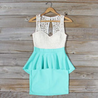 Always &amp; Forever Dress in Mint, Sweet Women&#x27;s Party Dresses