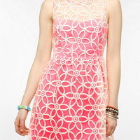 Coincidence & Chance Neon Embroidered Party Dress
