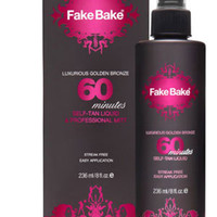 Fake Bake Luxurious Golden Bronze 60 Minutes Self-Tan & Mitt 8 oz