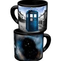Disappearing TARDIS Mug  - Whimsical &amp; Unique Gift Ideas for the Coolest Gift Givers
