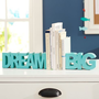 Dream Big Word Bookends