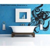 Vinyl Wall Decal Sticker Giant Octopus Item809s