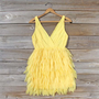 Drizzling Mist Dress in Lemon, Sweet Women&#x27;s Party &amp; Bridesmaid Dresses