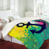DENY Designs Home Accessories | Sophia Buddenhagen Anchor Duvet Cover