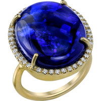 Irene Neuwirth Black Opal &amp; Diamond Ring at Barneys.com