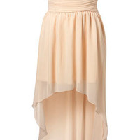 Chiffon Mullet Hem Dress by Rare** - Topshop