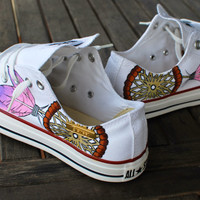 Dream Catcher Converse by BStreetShoes on Etsy