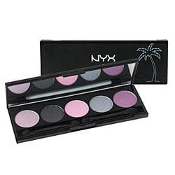 NYX The Caribbean Collection 5 Color Eyeshadow Palette :: Eyeshadow Sets :: Sets :: Cherry Culture :: Makeup Cosmetics