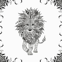 LiON Stretched Canvas | Print Shop