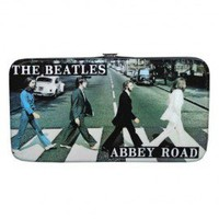 The Beatles Abbey Road Metallic Ladies Hinge Wallet