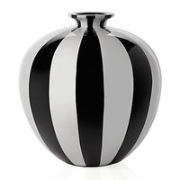 "Raya Vase - 14.5""H - Black 