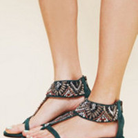 Bacio 61 Amalfi Embellished Sandal at Free People Clothing Boutique