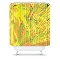DENY Designs Home Accessories | Rosie Brown Orange Palms Shower Curtain