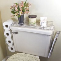 Toilet Caddy- 3 in 1 Organizer: Home &amp; Kitchen