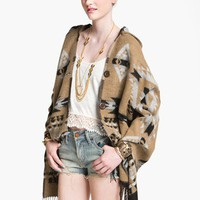 BP. Tribal Blanket Poncho (Juniors) | Nordstrom