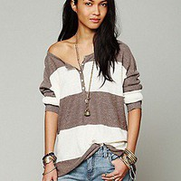 Free People  In a Row Henley at Free People Clothing Boutique