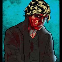 American Horror Story Tate Langdon Evan Peters by LisaDollDesigns