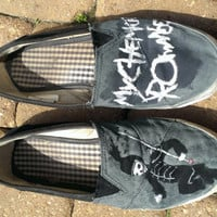 My Chemical Romance Custom Painted Shoes (FREE SHIPPING)