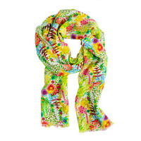 Liberty floral scarf - scarves &amp; hats - Women&#x27;s accessories - J.Crew