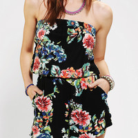 Angie Floral Printed Romper