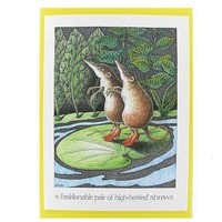 Quirky Gift - Unusual Presents : Simon Drew card - 6021