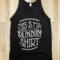 Runnin Shirt (black) - squatz - Skreened T-shirts, Organic Shirts, Hoodies, Kids Tees, Baby One-Pieces and Tote Bags