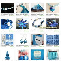 Light it up Blue...Autism Speaks.  by Elizabeth Banks on Etsy