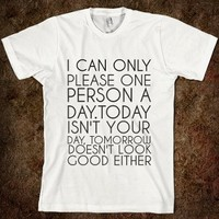 Please One Person-Casual T-Shirt