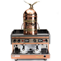 The Genuine Italian Astoria Dual Espresso Machine - Hammacher Schlemmer