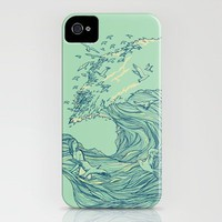 Ocean Breath iPhone Case by Chalermphol Harnchakkham | Society6