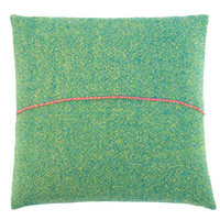 Provide - Collections - Textiles by Zuzunaga - Green hand woven cushion