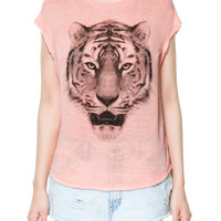 INDIAN TIGER T-SHIRT - T-shirts - TRF - ZARA United States