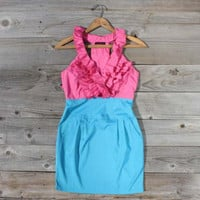 Full Sail Dress in Pink