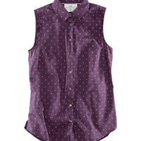 Sleeveless Shirt - from H&M