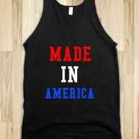 Made In America - Love of Country - Skreened T-shirts, Organic Shirts, Hoodies, Kids Tees, Baby One-Pieces and Tote Bags