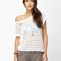 Cruiser Crocheted Layering Sweater - Roxy