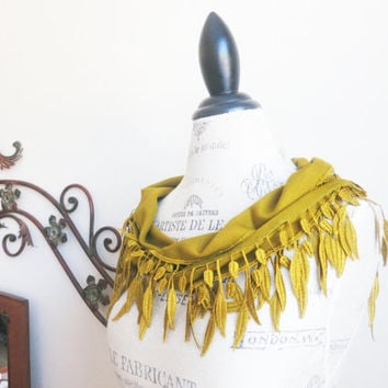 Ship from USOrganic Cotton Pashmina Lace by SistersLace on Etsy