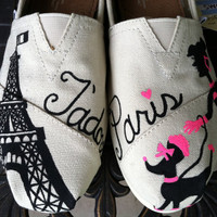 J'adore Paris Custom Toms
