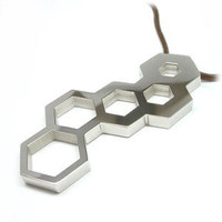 ThinkGeek :: Hex Wrench Pendant